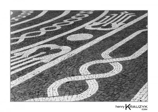 Street No. 1, Ponta Delgada by Henry Krauzyk ©2004