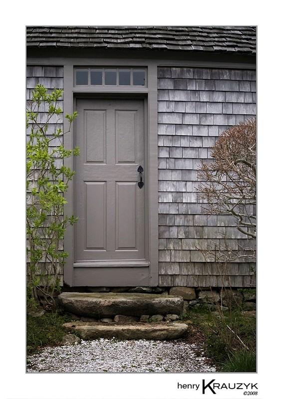 Old Doorway, Martha's Vineyard by Henry Krauzyk