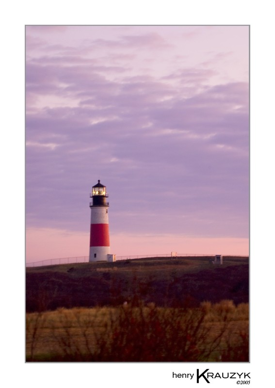 Sankaty Light, Nantucket by Henry Krauzyk ©2005