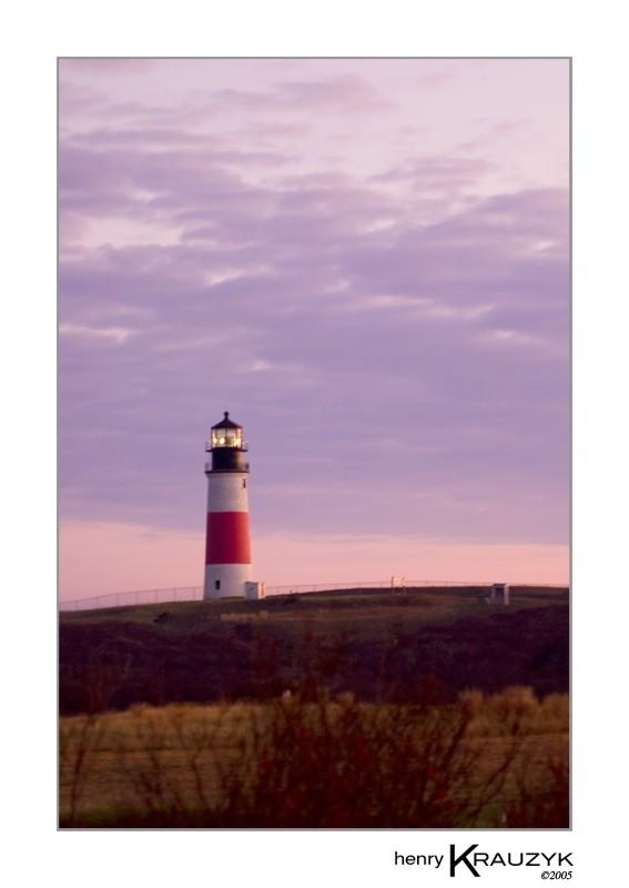 Sankaty Light, Nantucket by Henry Krauzyk ©2005