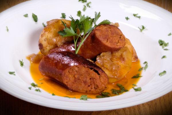 Portuguese Roasted Chourico and Potatoes-Krauzyk