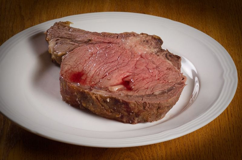Roast Prime Rib of Beef by Henry Krauzyk