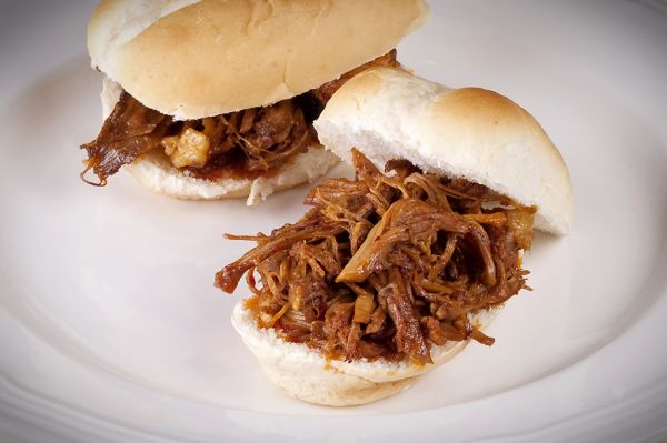Flo's Pulled Pork Sandwiches by Henry Krauzyk