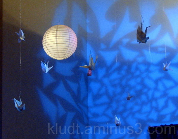 Cranes and Lanterns 1