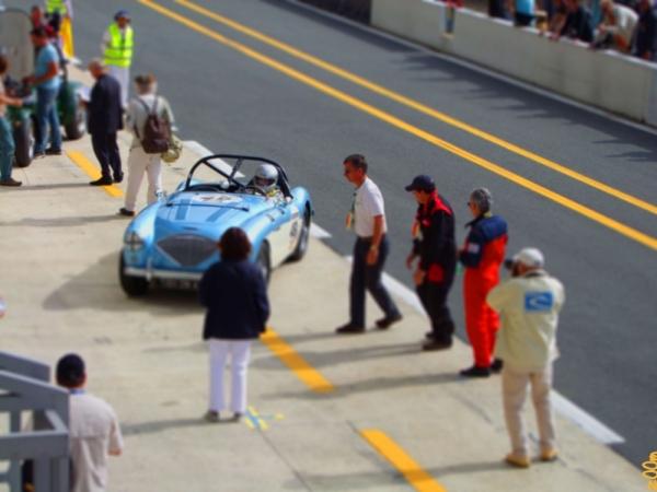 En direct du Mans...