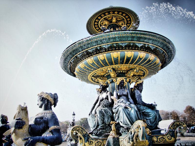 La Fontaine (Place de La Concorde)