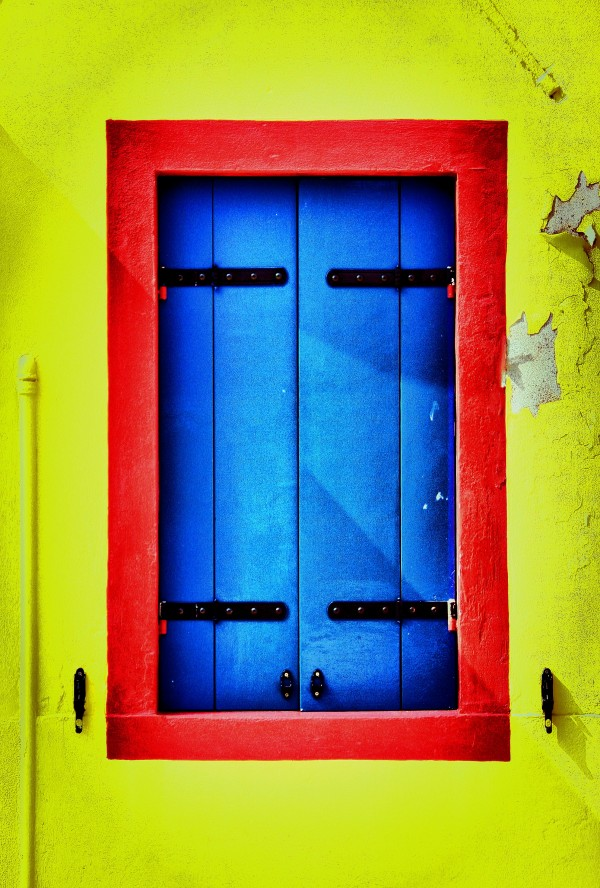 Yellow, Red & Blue (Burano)
