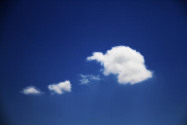 Ha ! Ha ! Said The Cloud