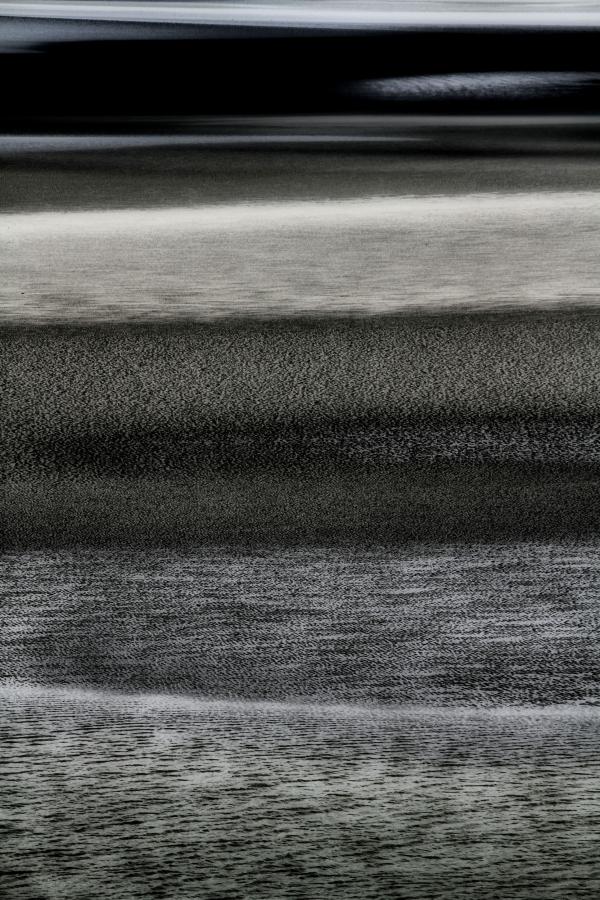 Layers Of Sand (Mont Saint-Michel)