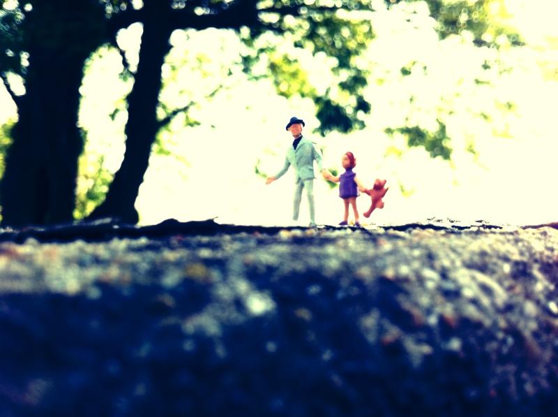 Walking With Dad - A Souvenir