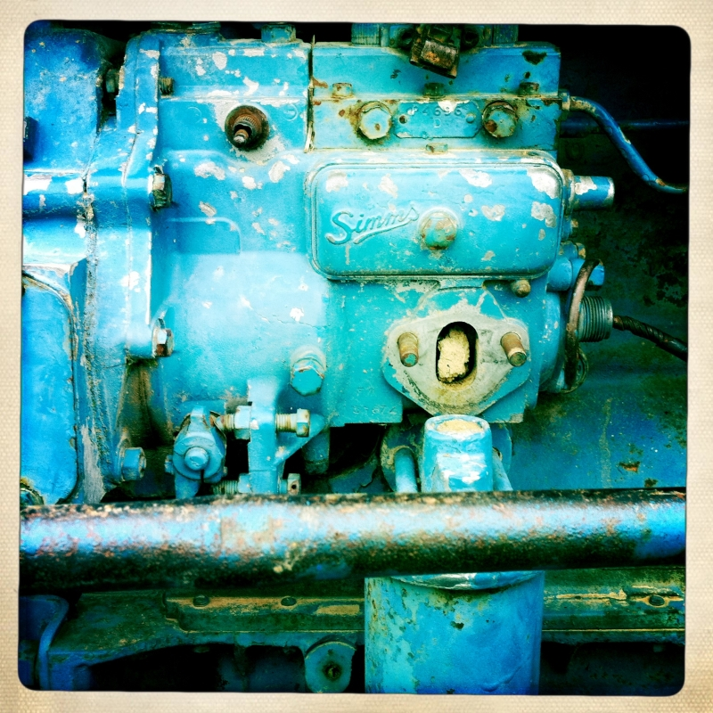 Old, Rusty But Blue