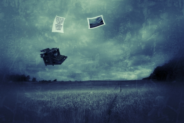 Have You Ever Seen A Flying Typewriter ? I Did