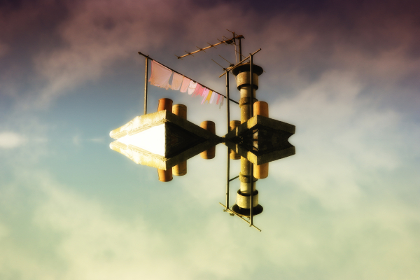 house flying symetry zOOm aminus paris