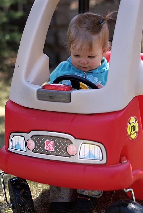 Olivia driving