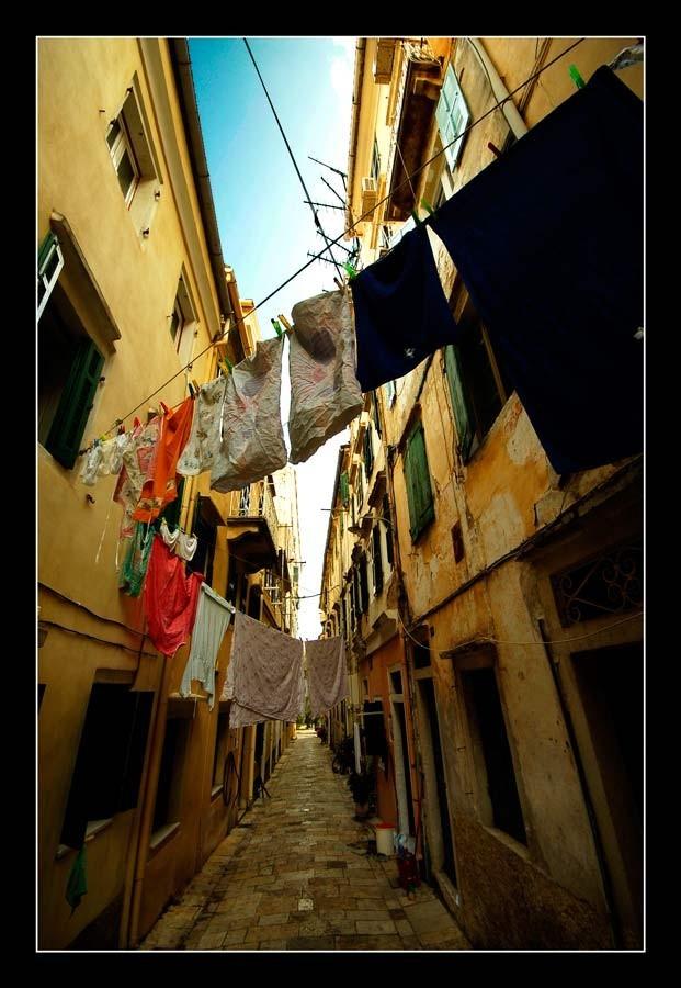 Corfu laundry