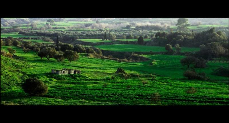 Landscape scenery in Havdata Kefalonia