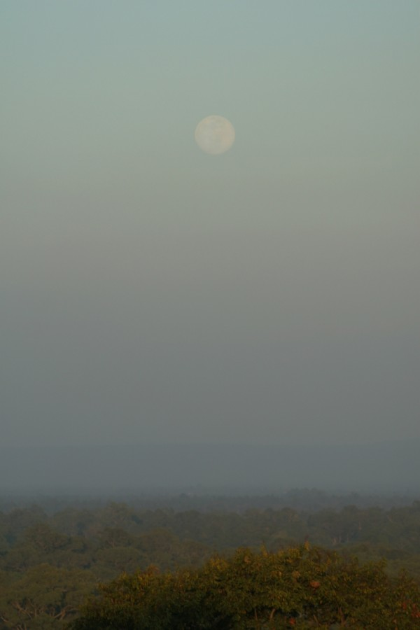Cambodian moonrise