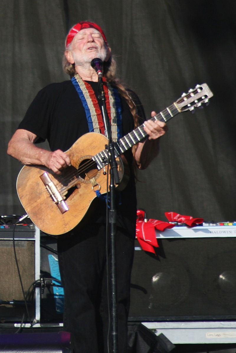 Willie Nelson at Rothbury 2009