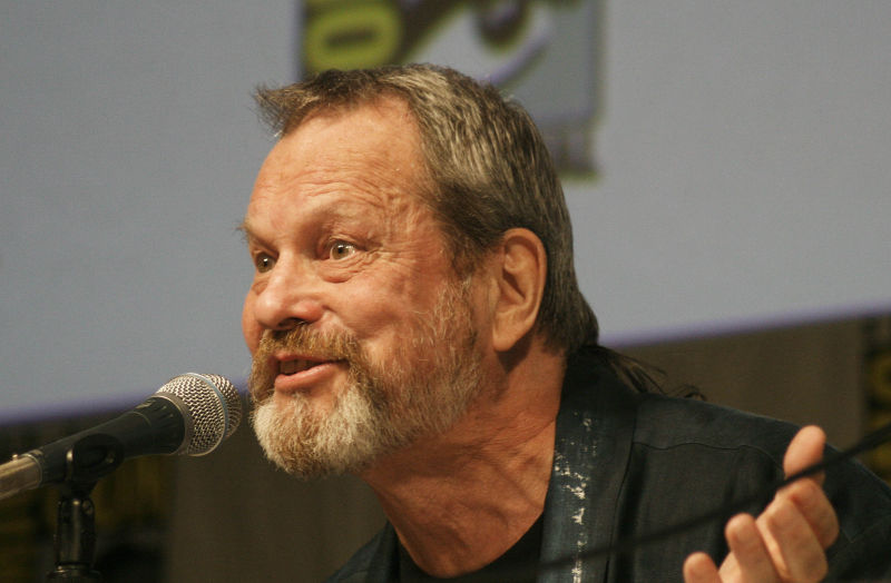 Terry Gilliam at Comic-Con
