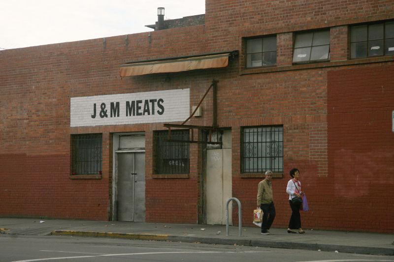 Downtown Oakland street