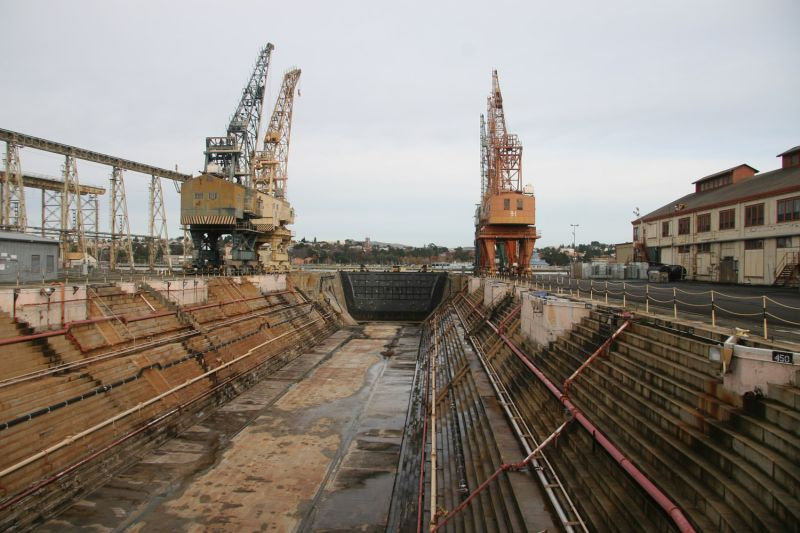 Shipyards at Mare Island
