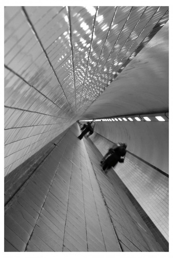Pedestrian tunnel Antwerp