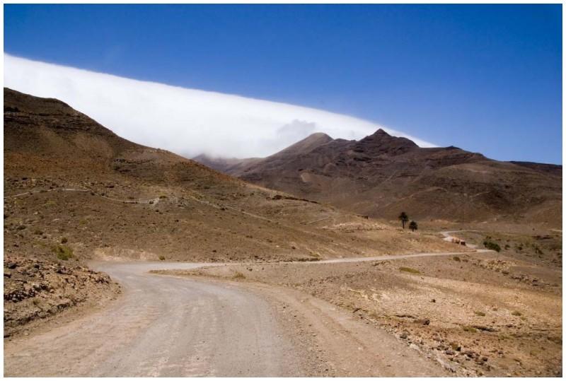 Landscape in Fuerteventura