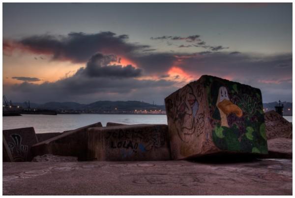 More graffiti in Gijon