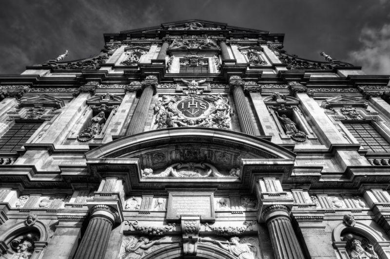 Antwerp Carolus Borromeus church