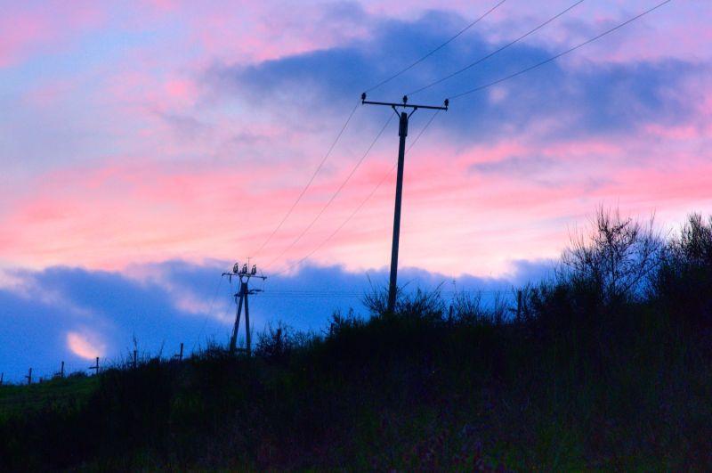 Sunset in Eifel