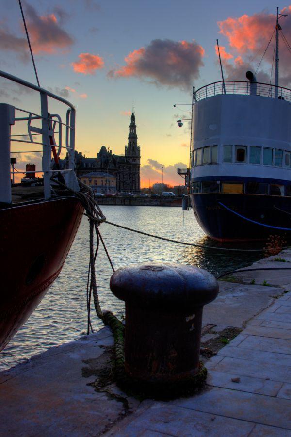 Quay in Antwerp