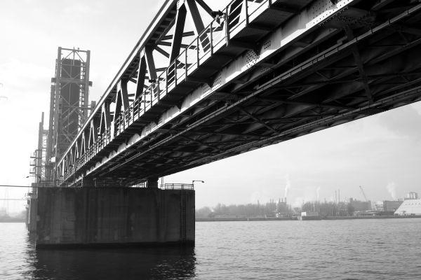 Bridges in the port of Antwerp