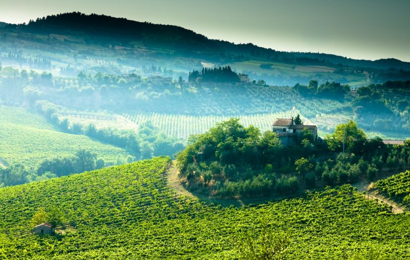 Toscana paessagio #8