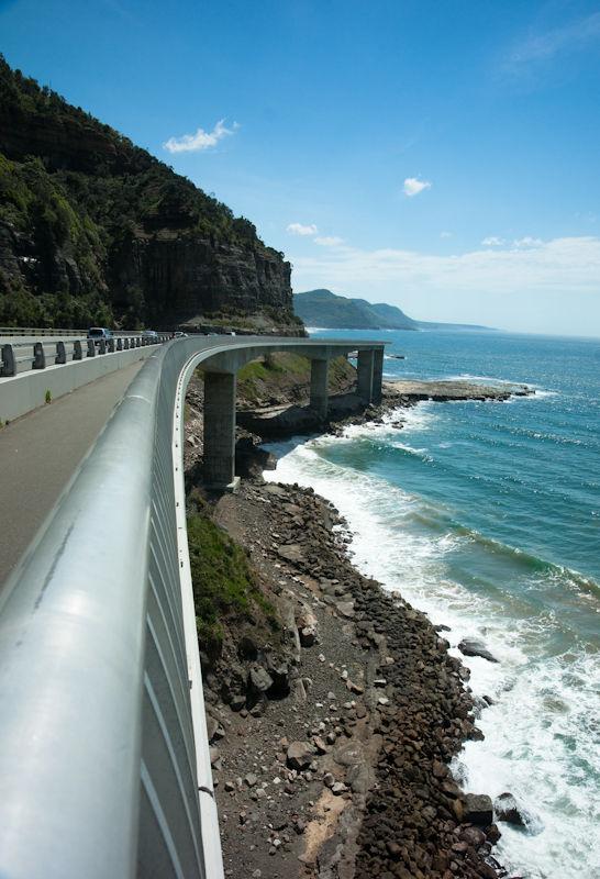 Sea cliff bridge, NSW