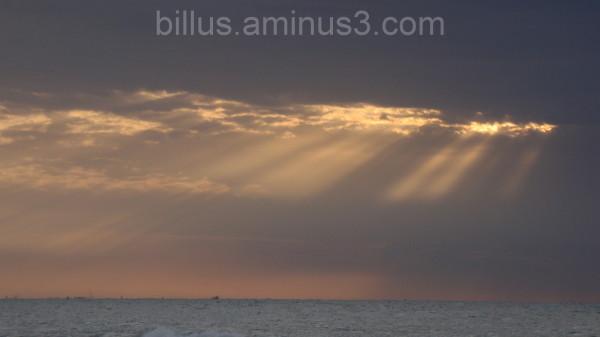 a pleasant evening at beach Jan 2011 ( UAE )