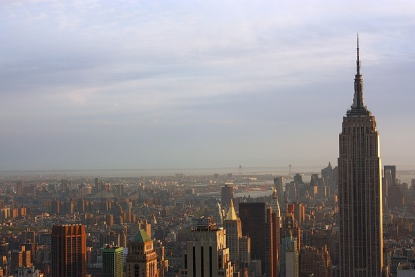 Sun-kissed NYC