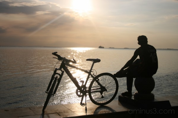 The Sun,The Sea, and the Bike
