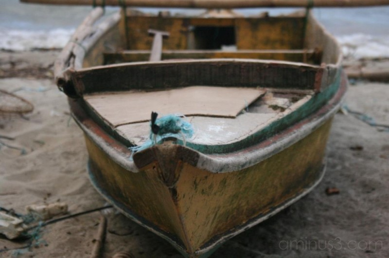 Adrift! A Little Boat Adrift!