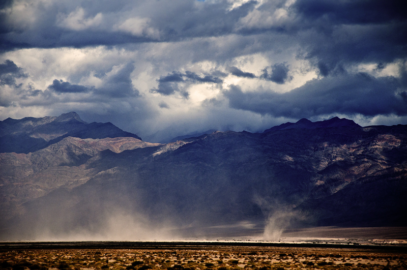 Dust Storm: Death Valley, California
