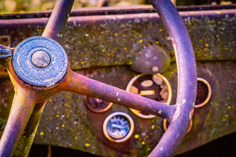 Steering Wheel Rust