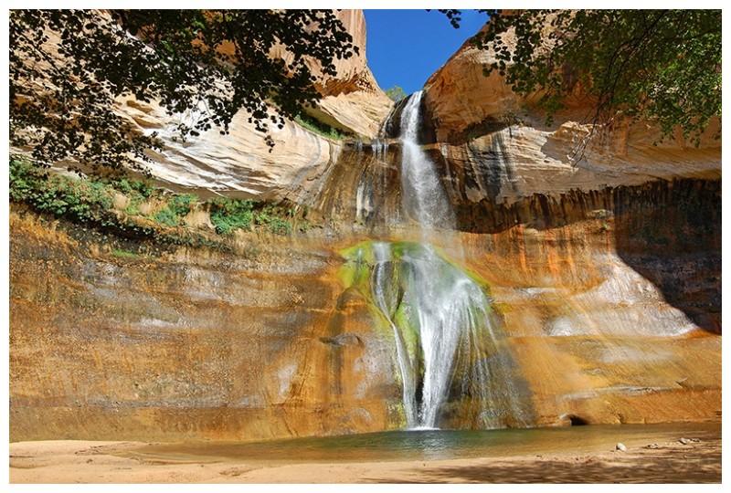 waterfall in Utah