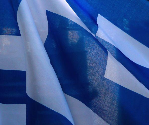 Greek flag.