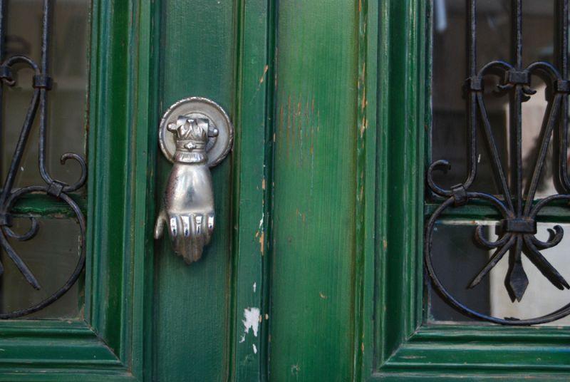 Doorknob.