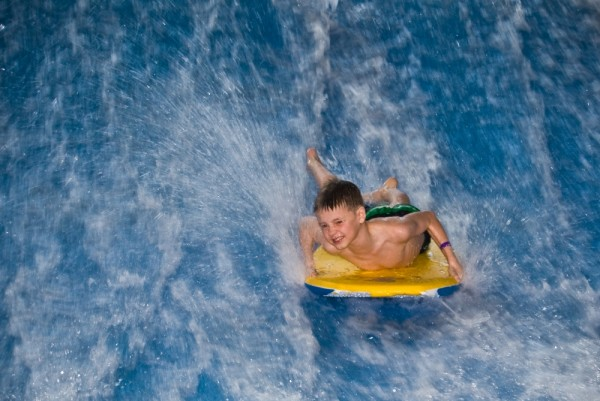 Ethan surfing