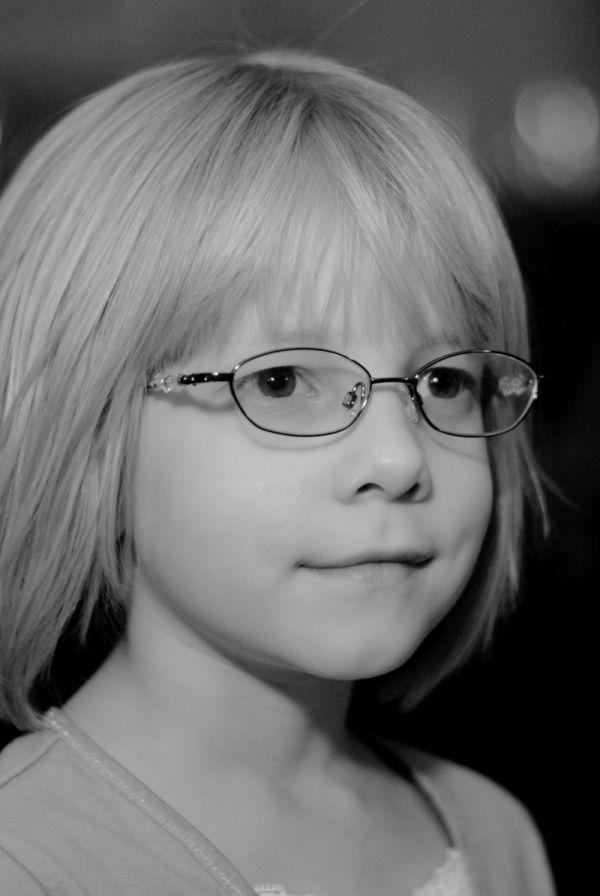 Tirzah's new glasses