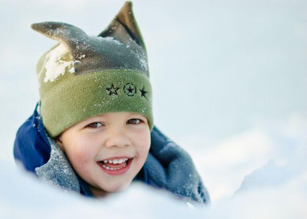 Armin behind the snow