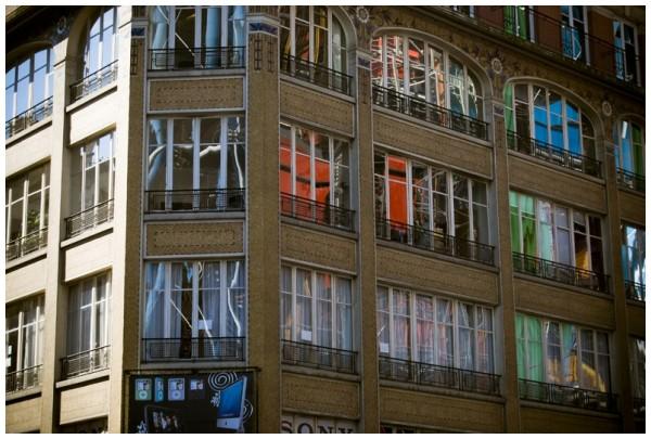 beaubourg reflet reflection