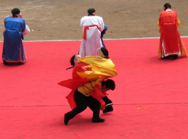 chinese wrestler