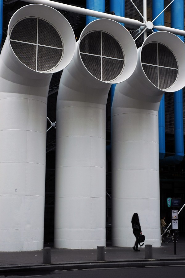 Centre Georges Pompiou Pipes