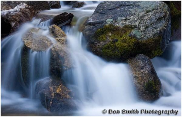Bridalveil Creek in Yosemite